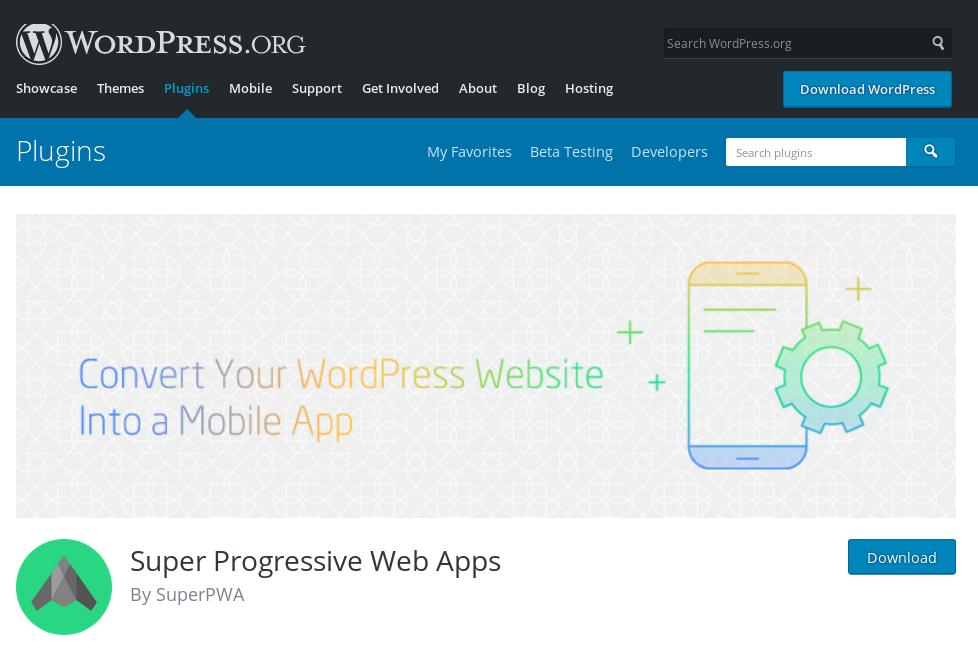 Convert your Wordpress website into a Progressive Web App