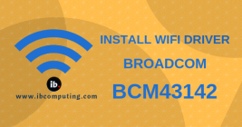 How to Install WiFi driver for Broadcom BCM43142 WiFi device in GNU/Linux Distros